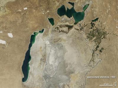 Biển Aral đang dần biến mất