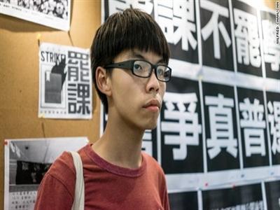 Thủ lĩnh biểu tình 17 tuổi ở Hong Kong là ai?