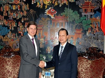 JP Morgan muốn tham gia vào tái cơ cấu ngân hàng thương mại ở Việt Nam