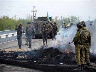 Miền Đông Ukraine giao tranh dữ dội nhất kể từ khi đình chiến