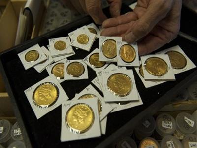 Lượng vàng xu US Mint bán ra tháng 9 tăng gấp đôi