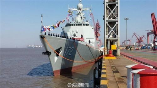 Trung Quốc điều tàu chiến hiện đại nhất ra biển Đông tập trận