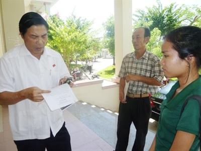 Ông Nguyễn Bá Thanh không thể về tiếp xúc cử tri
