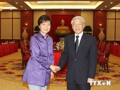 Việt Nam và Hàn Quốc đẩy mạnh quan hệ đối tác hợp tác chiến lược