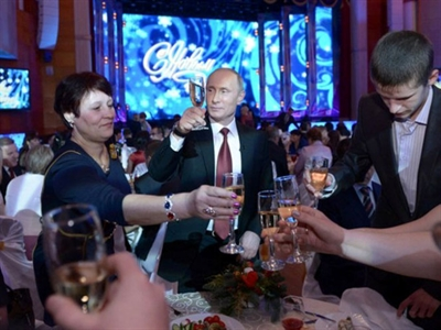 Ăn uống sành điệu nhưVladimir Putin