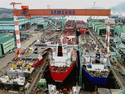 Samsung cân nhắc đầu tư 950 triệu USD xây nhà máy đóng tàu ở Việt Nam