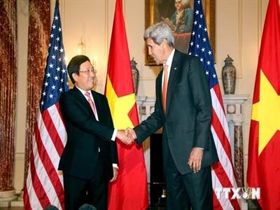 Phó Thủ tướng Phạm Bình Minh thăm chính thức Hoa Kỳ