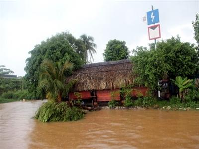 Nhiều vùng ở Đồng Nai sẽ ngập vì hồ Trị An tiếp tục xả lũ