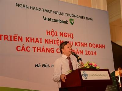 Vietcombank lãi trước dự phòng 9 tháng đạt 7533 tỷ đồng