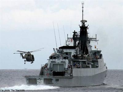 Tàu hải quân Malaysia mất tích bí ẩn