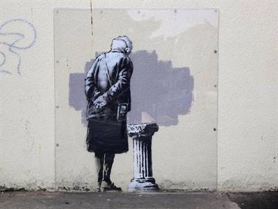 Họa sỹ đường phố Banksy trở lại