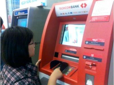 ATM Techcombank sử dụng Win XP không có bản quyền?