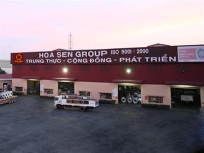 Tập đoàn Hoa Sen thành lập 6 chi nhánh mới