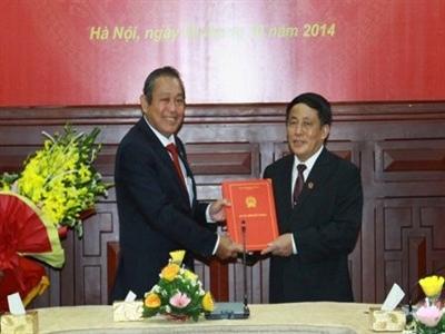 Ông Nguyễn Văn Thuân làm Phó Chánh án Tòa án Nhân dân tối cao