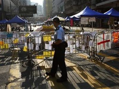 Chính quyền Hong Kong và người biểu tình ấn định đàm phán chính thức