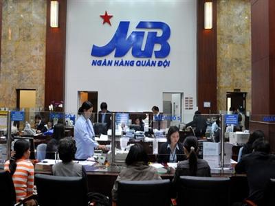 MBB ngày 29/10 giao dịch không hưởng quyền tạm ứng cổ tức 7%