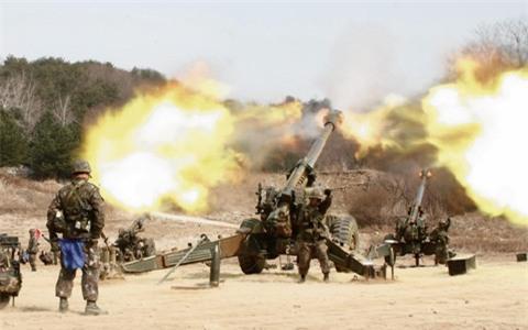 Triều Tiên bắn pháo về phía Hàn Quốc