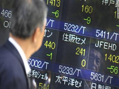 Chứng khoán châu Á giảm do bế tắc tại Hong Kong