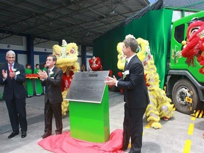Nestle nâng tổng đầu tư vào Việt Nam lên 450 triệu USD