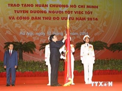 Hà Nội tổ chức Lễ kỷ niệm 60 năm ngày Giải phóng Thủ đô