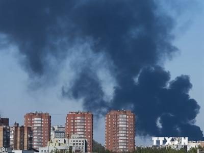 Ukraine: Giao tranh gần sân bay Donesk làm 8 người thương vong