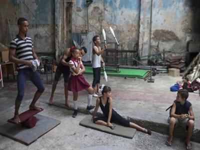 Trẻ em Cuba với giấc mơ xiếc và cơ hội đổi đời