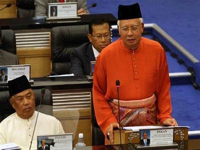 Malaysia công bố ngân sách hơn 84 tỷ USD trong năm 2015