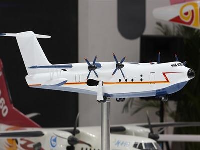 Trung Quốc sắp trình làng thủy phi cơ mang vũ khí chống ngầm