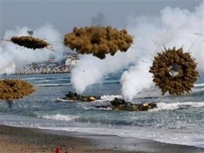 Hàn Quốc đưa thêm tên lửa tới đảo tiền tiêu