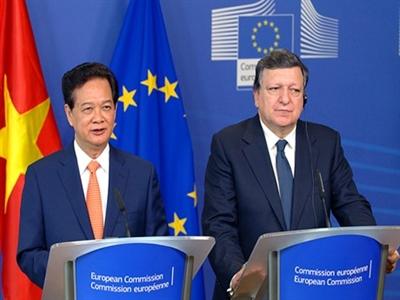 Tuyên bố chung Việt Nam-EU: Kết thúc đàm phán FTA trong một vài tháng tới