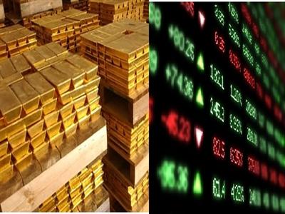 Chứng khoán Mỹ lại lao dốc, giá vàng tăng mạnh