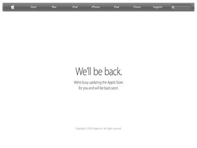 Apple Store online đóng cửa, chờ iPad mới