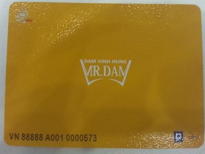 Đàm Vĩnh Hưng ra mắt album nhạc là một chiếc thẻ đầu tiên trên thế giới