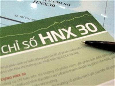 HNX30 đổi 4 cổ phiếu, PVX và DXP bị loại