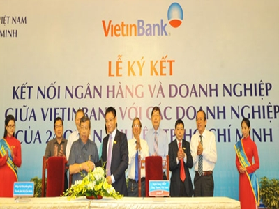 VietinBank cho doanh nghiệp TP.HCM vay hơn 15.500 tỷ đồng