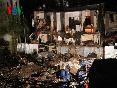 Nổ xưởng sản xuất thuốc trừ sâu ở TPHCM: 3 người tử vong, sập 7 căn nhà