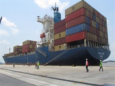 Sản lượng container qua các cảng tăng 18,58%
