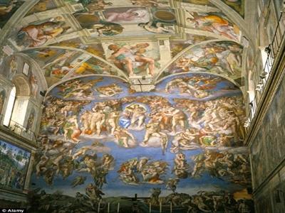 Vatican lần đầu tiên cho thuê Nhà nguyện Sistine