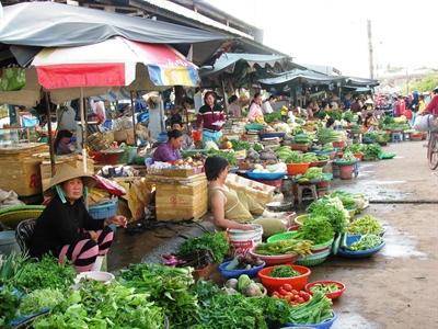 Vai trò của chợ truyền thống trong đô thị