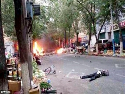 Tấn công khủng bố nghiêm trọng ở Tân Cương, 22 người thiệt mạng