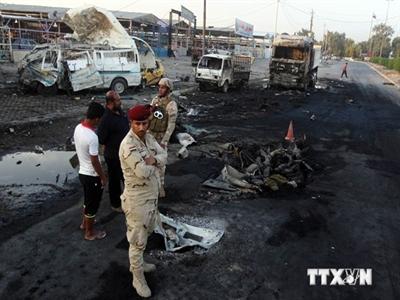 Đánh bom ở trung tâm Baghdad, hơn 40 người thương vong