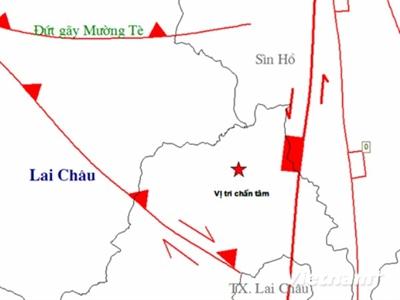 Có khả năng xảy ra động đất dưới 7 độ Richter tại Tây Bắc
