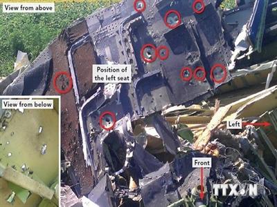 Tình báo Đức: Ukraine đã làm giả dữ liệu về vụ rơi MH17