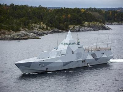 Nga bác tin tàu ngầm gặp nạn trong lãnh hải của Thụy Điển