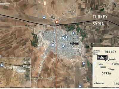 Thổ Nhĩ Kỳ mở đường sống cho Kobani