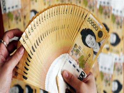 Nợ chính phủ của Hàn Quốc lên cao kỷ lục