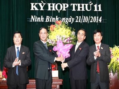 Ninh Bình họp bất thường bầu Chủ tịch tỉnh mới