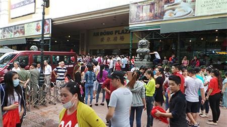 Tiểu thương An Đông Plaza đình công vì bất đồng giá thuê sạp