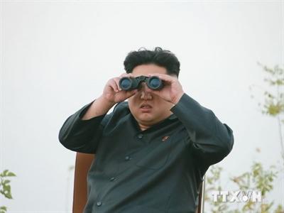 Kim Jong-un thị sát cuộc tập trận quy mô lớn
