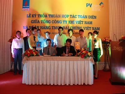 PVcomBank và PVGas ký thỏa thuận hợp tác toàn diện
